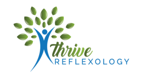 Home. Thrive Reflexology Logo
